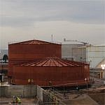 See video of the major expansion of chemical storage at Seal Sands